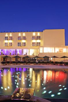 On the remote Cape Kiti, near Larnaca, this self-contained hotel has everything you need. E-Hotel (Cyprus) - Jetsetter