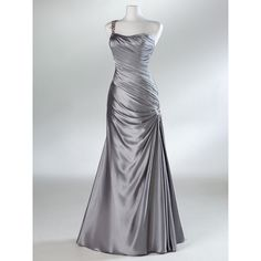 Custom size A-Line taffeta Ball gowns Bridal Gown Bridesmaid Dress... ($138) ❤ liked on Polyvore