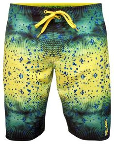 Pelagic Psycho Dorado Board Shorts - 32 - Green