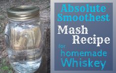 Homebrewing spirits How to make the smoothest mash recipe for moonshine Off Grid Maker Moonshine Mash Recipe, Moonshine Recipes Homemade, Homemade Whiskey, Apple Pie Moonshine, Homemade Alcohol, Homemade Liquor, Peach Moonshine, Moonshine Cocktails, Moonshine Whiskey