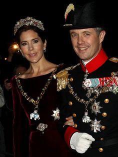 Prince Frederik and Princess Mary of Denmark