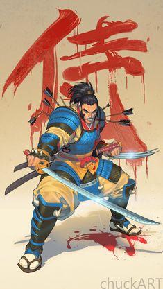 Samurai Wolvie by chuck-piresART on DeviantArt