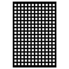 Acurio Latticeworks Square 32 in. x 4 ft. Black Vinyl Decorative Screen Panel - - The Home Depot Home Depot, Plastic Lattice, Decorative Screen Panels, Decorative Metal, Vinyl Lattice Panels, Vinyl Decor, Black Garden, Aesthetic Beauty, Fence Panels