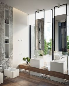 Awesome 59 Best Bathroom Decoration Inspirations Ideas. More at https://trendyhomy.com/2018/06/07/59-best-bathroom-decoration-inspirations-ideas/