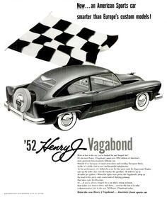 1952 Henry J. Kaiser Vagabond ad