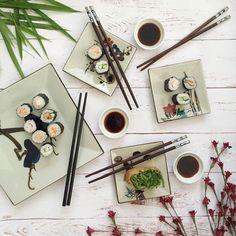 Sushi Saturday. : @jodianne_ #Saturday #instafood #flatlay #sushi #sushisaturday