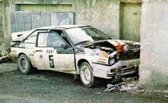 It was not a good Monte for Michele, she had an argument with a wall!!