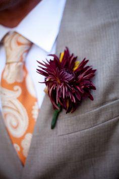 mum groom bout #fall #wedding