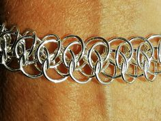 Bracelet Making, Jewelry Making, Chainmaille, Etsy Shop, Jewels, Jewellery, Sterling Silver, Bracelets, Women