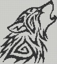 wolf - Alpha Pattern #13596 Preview added by puppydog: