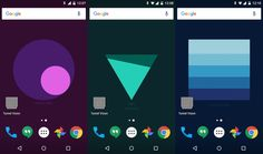 Google is tinkering again, this time bringing a live wallpaper that may actually be useful. Meter, a project from Google'sCreative Lab, will tell you when