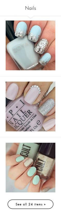 """Nails"" by annabanananaz ❤ liked on Polyvore featuring beauty products, nail care, nail treatments, nails, beauty, nail polish, disney and makeup"