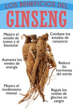 Beneficios del Ginseng para la salud  #ginseng #energia