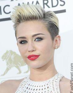 Miley cyrus shag hairstyle