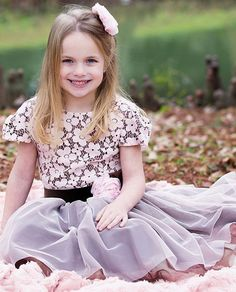 Haute Baby Lace Dress with Tulle Skirting PREORDER $86.00 Girls Boutique Dresses, Boutique Clothing, Little Girl Outfits, Cute Outfits, Tulle Dress, Lace Dress, Fade Styles, Tween Girls, Top Designer Brands