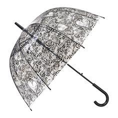 InterestPrint Custom Navy Ocean Wave Anti Sun UV Foldable Travel Compact Umbrella