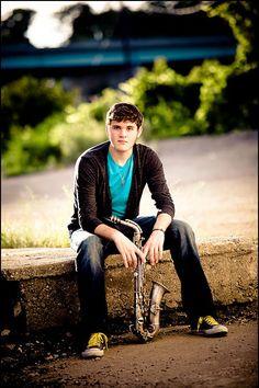 Senior Picture / Photo / Portrait Idea - Musician - Band - Saxophone