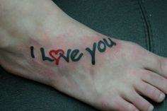 Anniversary Tattoo Ideas for Couples | love you tattoo 25 Tattoo Designs For Girls Which Boys Like