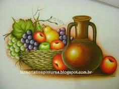 Resultado de imagem para riscos de maçãs para pintura em tecido
