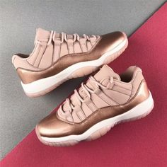 save off df76d 4f596 Newest Air Jordan 11 Low  Rose Gold  AH7860-105 - Mysecretshoes New Nike