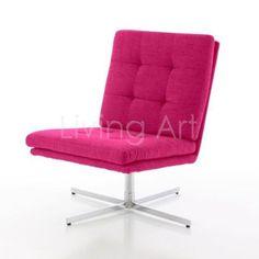 Fotel Carrera pink