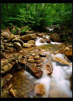Falling Waters Trail, White Mountains, NH