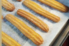 Light baked thermomix churros, recipe for tasty churros also called chichis, very crisp and so easy to make with thermomix. Light baked thermomix churros, recipe for tasty churros also called chichis, very crisp and so easy to make with thermomix. Churros Au Four, Baked Churros, Cake Recipes, Snack Recipes, Dessert Recipes, Cooking Recipes, Easy Smoothie Recipes, Easy Healthy Recipes, Healthy Smoothie