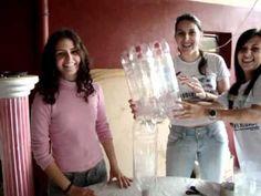 Como fazer uma poltrona com garrafas pets » Artesanato Brasil