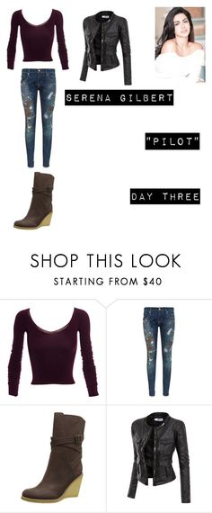"""""""Serene Gilbert (Worlds Colliding) The Vampire Diaries 1.01 """"Pilot"""""""" by jdefloria on Polyvore featuring Mark Fast, Denim & Supply by Ralph Lauren, See by Chloé and Doublju"""