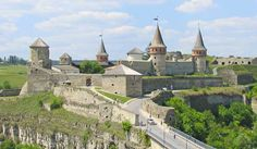 Kamianets-Podilskyi Castle in the Ukraine is a former Ruthenian-Lithuanian castle and a later three-part Polish fortress located in the historic city of Kamianets-Podilskyi, Ukraine, in the historic region of Podolia in the western part of the country.