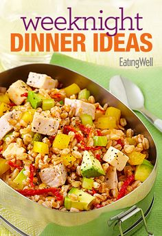 Get 12 or more weeknight dinner ideas with pictures in this free downloadable recipe cookbook #cookbook #free #recipes #dinner #ideas