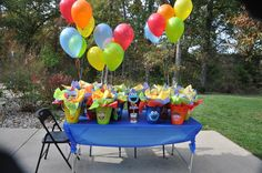 "Photo 11 of 24: Sesame Street Party / Birthday ""Follow Annika to Sesame Street"" 