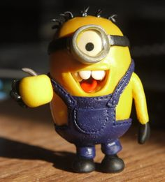 Love the little minion...