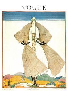 Vintage Vogue Covers, 1920 #VintageVogueCoversKisyovaLazarinova