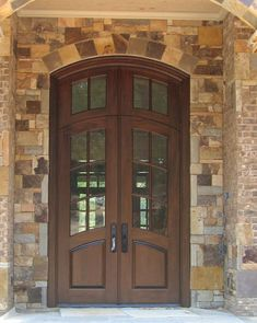 Country French Exterior Wood Entry Door Style DbyD-2412