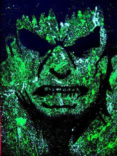 Incredible Hulk of Marvel Comics Avengers Artist Signed Print. on Etsy, $15.00