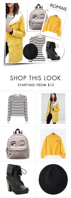 """""""#Romwe"""" by violinistkitty ❤ liked on Polyvore featuring Oasis and Parka London"""