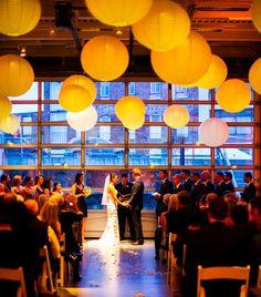 Beautiful urban wedding
