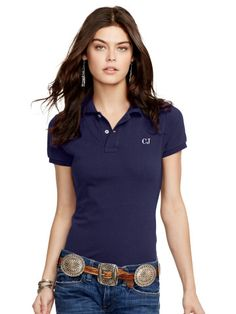 Skinny-Fit Polo Shirt - Create Your Own Polos - RalphLauren.com