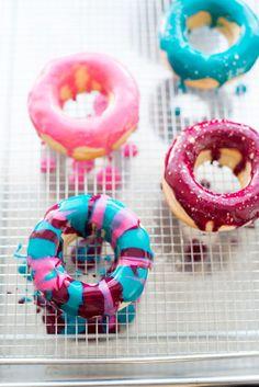 Donuts mit meinem Brioche Rezept