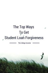 The Top Ways To Get Student Loan Forgiveness - There are many ways to get student loan forgiveness, including volunteer work, medical studies, the military, or law school. Pay off Debt, Student Loan Debt #debt