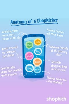 Which Shopper are you? When Shopkick and earning kicks are life...