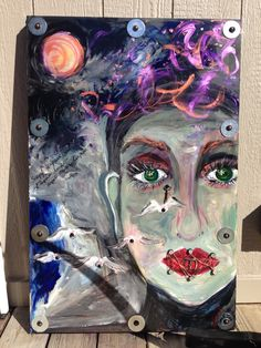 """""""The silent author""""...by Amy B. 10-2014 (sold)"""