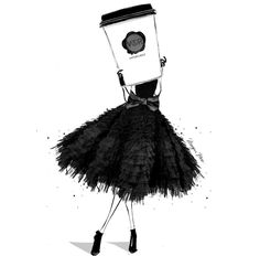 Ohhh I think we all need a very Couture Coffee this morning. I'm dreaming of a double shot VIKTOR & ROLF espresso! Megan Hess Illustration, Illustration Art, Coffee Illustration, Fashion Prints, Fashion Art, Coffee Cup Art, Coffee Time, Morning Coffee, Coffee Shop