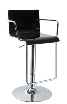 T2019 Bar Stool in Black by VIG Furniture