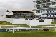 Hospitality Structure at Epsom Derby built by The Halo Group #TemporaryStructure #Hospitality #VIP