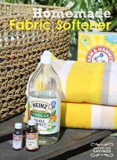 Homemade Fabric Soft