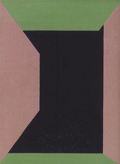 """Richard Mortensen """"Antiklimaks, Zen-billede, Kaiku, A"""", Geometric Form, Installation Art, Painting & Drawing, Oil On Canvas, Zen, Contemporary Art, Abstract Art, Sculptures, Graphic Design"""