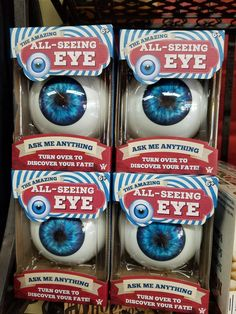 You all know how I love eyeballs!