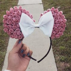 Hey, I found this really awesome Etsy listing at https://www.etsy.com/listing/276958522/minnie-mouse-floral-disney-ears